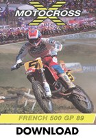 Motocross 500 GP 1989 - France Download