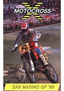 Motocross 500 GP 1989 - San Marino Duke Archive DVD