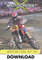 Motocross 500 GP 1989 Britain Download