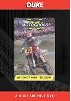 Motocross 500 GP 1989 - Belgium Duke Archive DVD
