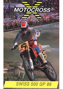 Motocross 500 GP 1989 - Switzerland Duke Archive DVD