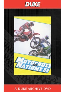 Motocross Des Nations 1989 Duke Archive DVD