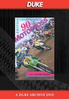 Motocross 500 GP 1990 - Round 1 Britain Duke Archive DVD