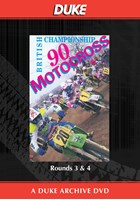 Motocross 500 GP 1990 Rounds 3 & 4 Duke Archive DVD