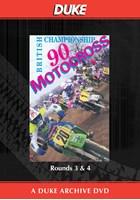 Motocross 500 GP 1990 Rounds 3 & 4 Duke Archive DVD