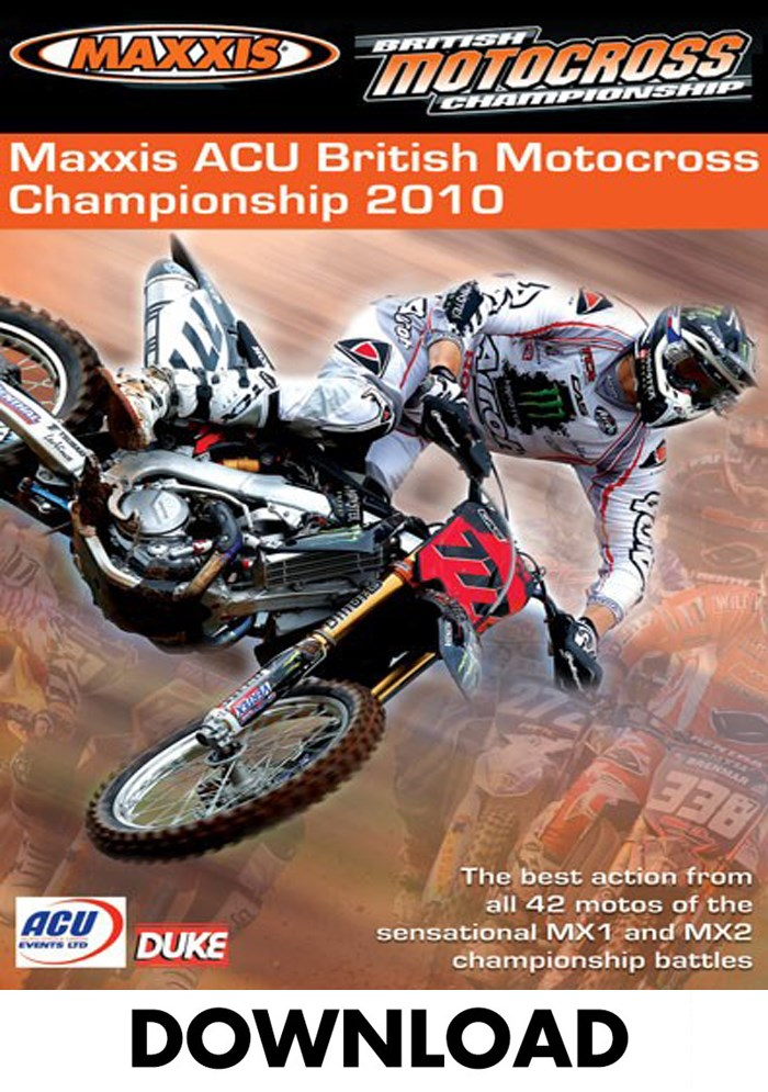 British Motocross Championship Review 2010 Download (2 Parts)