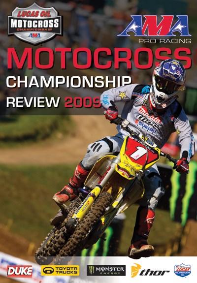 AMA Motocross Championship Review 2009 NTSC (2 Disc)  DVD