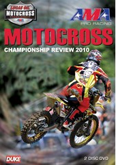 AMA Motocross Championship Review 2010 NTSC (2 Disc) DVD