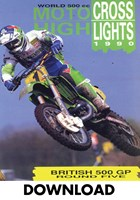 Motocross 500 GP 1990 - Britain Download