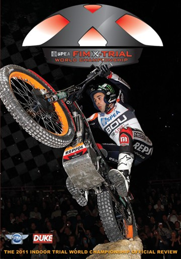 X-Trial World Championship Review 2011 DVD. (Indoor Trials) - click to enlarge