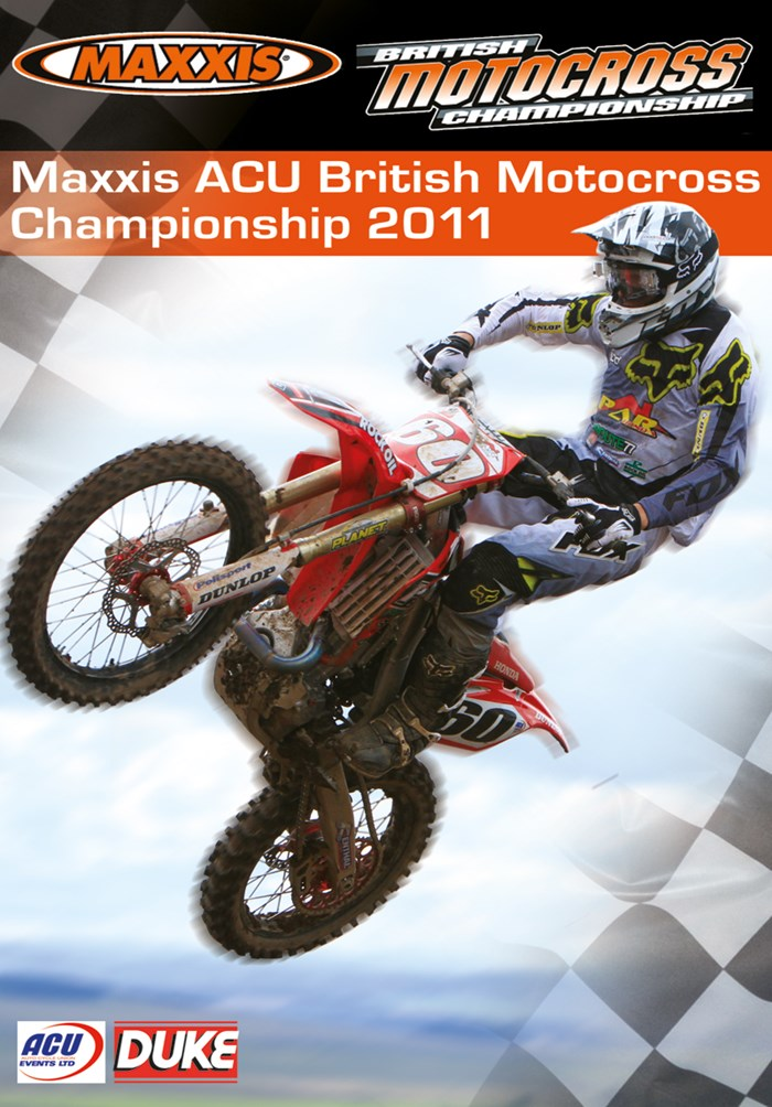 British Motocross Championship 2011 Review DVD