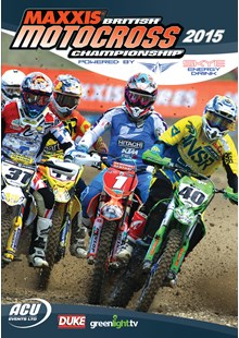 British Motocross Championship 2015 Review DVD