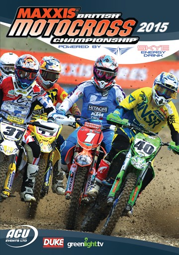 British Motocross Championship 2015 Review DVD - click to enlarge