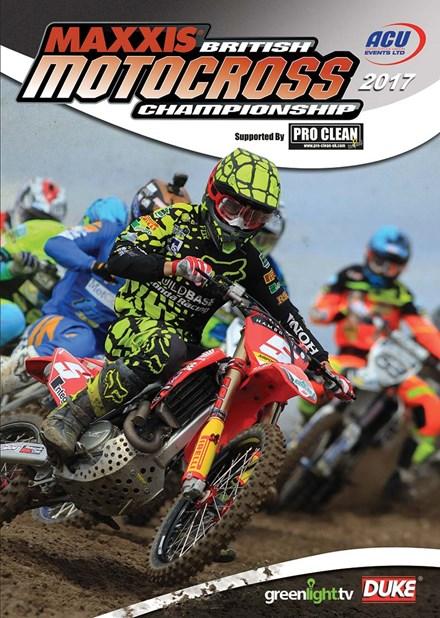 British Motocross Championship 2017 Review DVD
