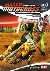 British Motocross Championship 2018 Review DVD