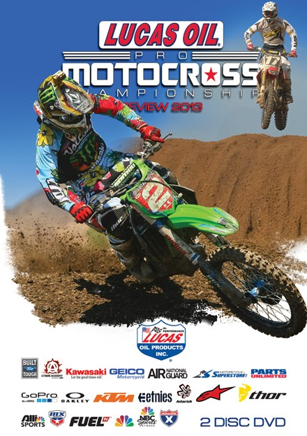 AMA Motocross Review 2013 (2 Disc) DVD