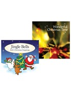 Wonderful Christmas Time CD and Jingle Bells CD Bundle