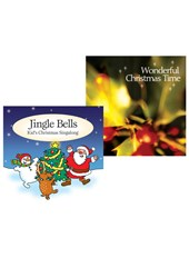 Wonderful Christmas Time CD and Jingle Bells CD Bundle
