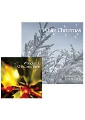 Wonderful Christmas Time CD and White Christmas CD Bundle