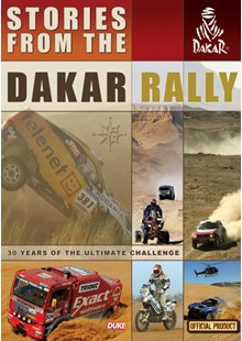 Stories from  the Dakar Rally DVD