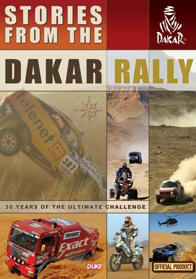 Stories from  the Dakar Rally DVD