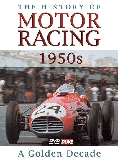 History of Motor Racing in 1950s NTSC DVD