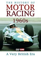 The History of Motor Racing 1960s - A Very British Era DVD