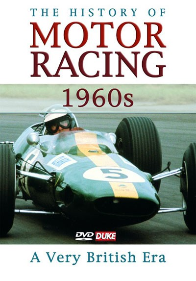 The History of Motor Racing 1960s - A Very British Era DVD
