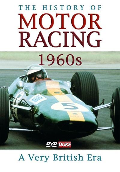 History of Motor Racing in 1960s NTSC DVD