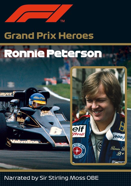 Ronnie Peterson Grand Prix Hero NTSC DVD