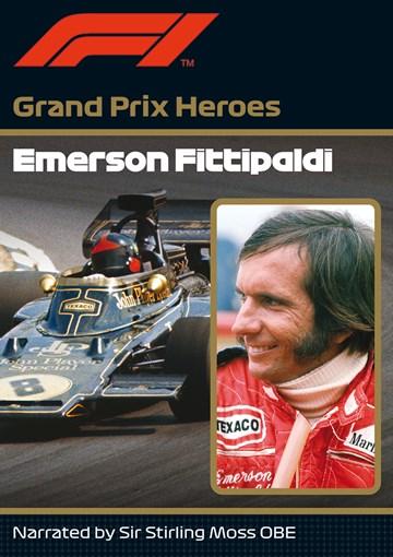 Emerson Fittipaldi Grand Prix Hero  DVD - click to enlarge