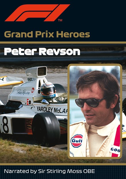 Peter Revson Grand Prix Hero NTSC DVD