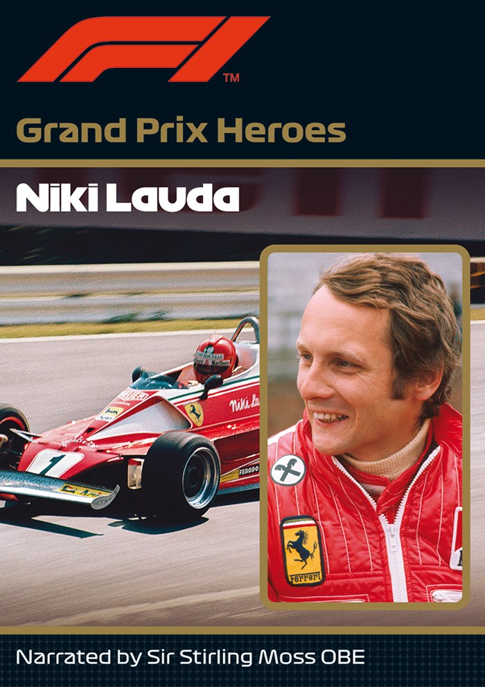 Niki Lauda Grand Prix Hero NTSC DVD
