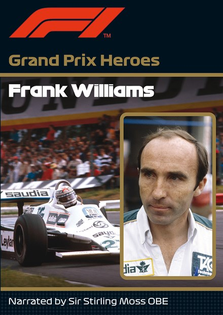 Frank Williams Grand Prix Hero NTSC DVD