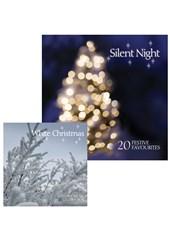 Silent Night CD and White Christmas CD Bundle