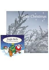 White Christmas CD and Jingle Bells CD Bundle