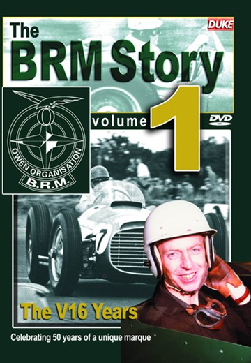 The BRM Story 1 - V16 Years DVD - click to enlarge