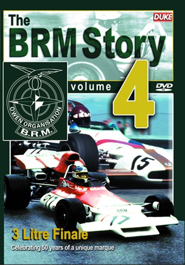 The BRM Story 4 - 3-LITRE Finale DVD - click to enlarge