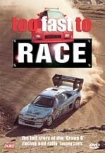 Too Fast to Race DVD NTSC