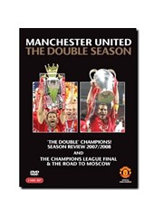 Manchester United - 2007/08 The Double Season (3 DVDs)