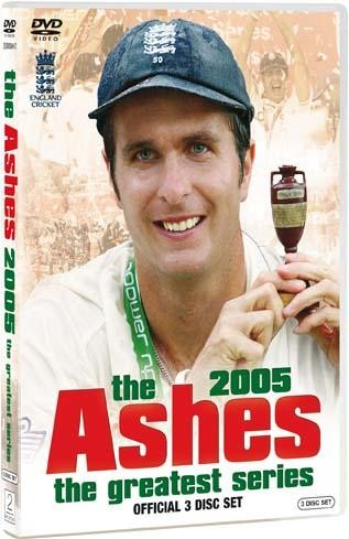 The 2005 Ashes The Greatest Series (Official 3 Disc Set) - click to enlarge