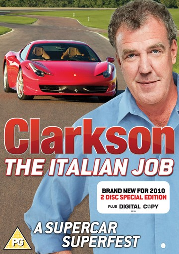 Clarkson the Italian Job ( 2 Disc) DVD - click to enlarge