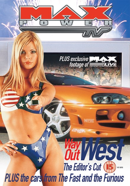 Max Power Way Out West DVD