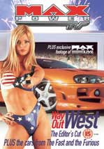 Max Power Way Out West Editors Cut DVD NTSC