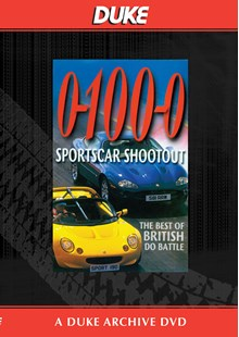 0-100-0! Sportscar Shootout Duke Archive DVD