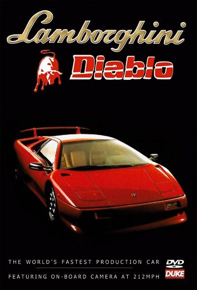 Lamborghini Diablo NTSC DVD