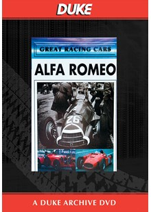 Alfa Romeo - Great Racing Cars Duke Archive DVD