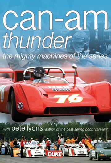 Can Am Thunder DVD - click to enlarge