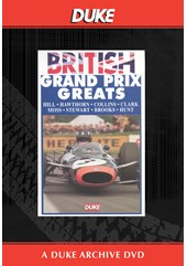 BRITISH GRAND PRIX GREATS Duke Archive DVD