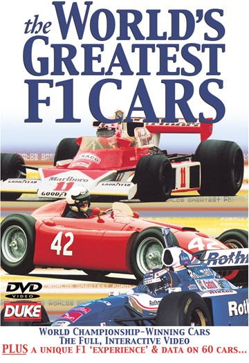 The World's Greatest F1 Cars DVD - click to enlarge